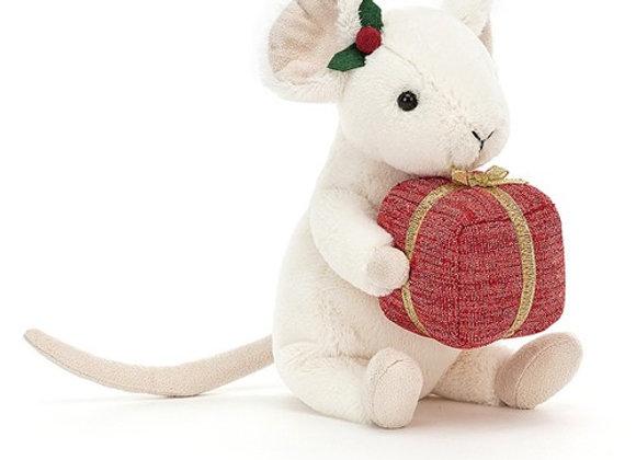 Jellycat Souris de Noël Cadeau