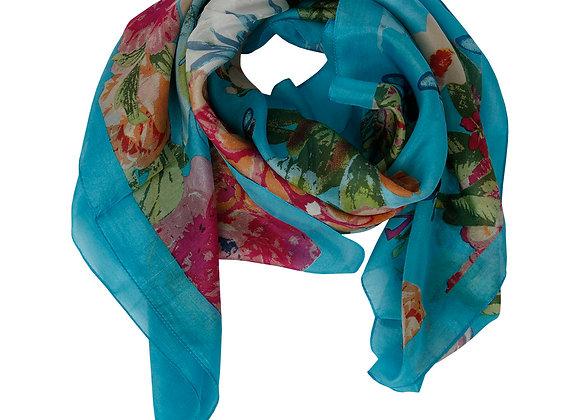 Foulard Wilma, turquoise