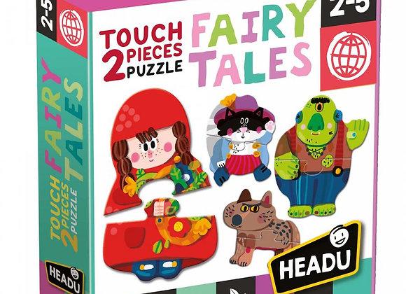 2 pieces Touch Puzzle Fairy Tales HEADU