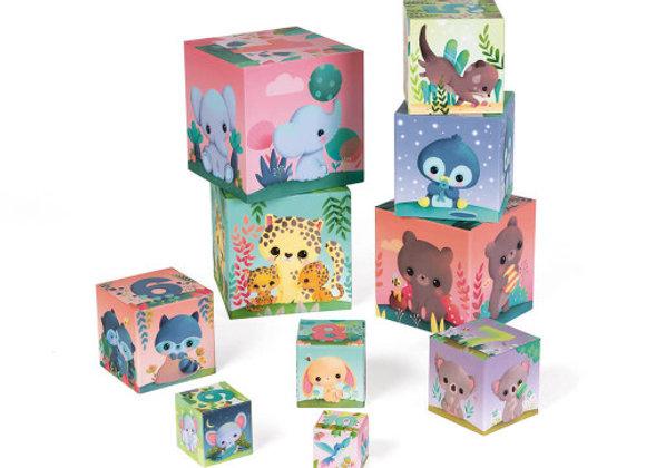 Cubes animaux trop mignons