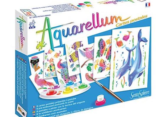 """Aquarellum Junior """"cartes postales"""""""