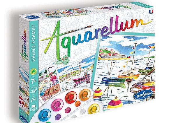 Aquarellum grand port de pêche