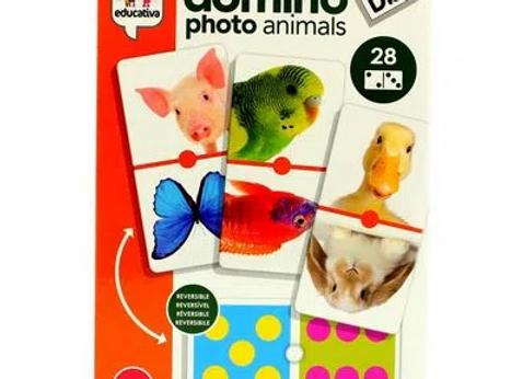 Domino photo animaux