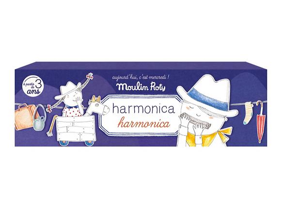 Harmonica métal - Moulin Roty