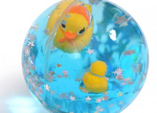 Grosse balle rebondissante canard