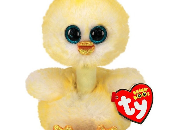 Beanie boo's - peluche benedict le poussin