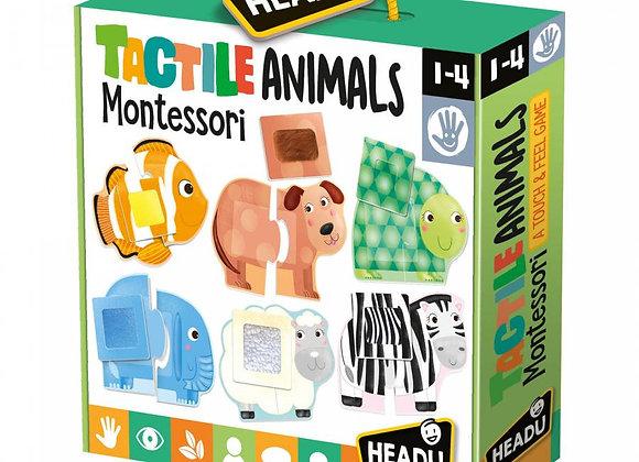 Tactile Animals Montessori - HEADU