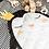 Thumbnail: Sac de rangement pour jouets et tapis de jeux motif pinguin Play&Go