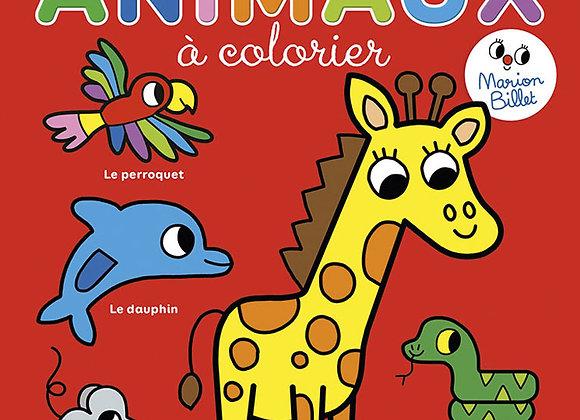 L'imaginer des animaux à colorier