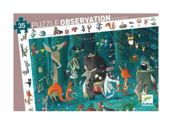 puzzle d'observation l'orchestredeDjeco
