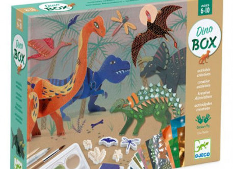 Box creative dinosaures