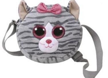 Ty - Sac bandoulière  chat gris