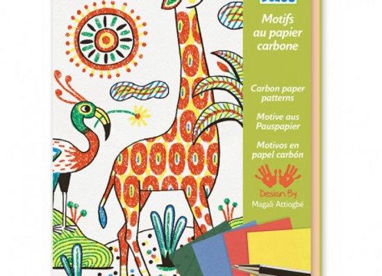 Coffret Motifs au papier carbone - Deco
