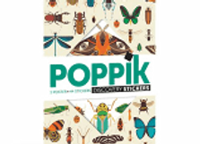 POPPIK - POSTER GÉANT + 44 STICKERS  INSECTES
