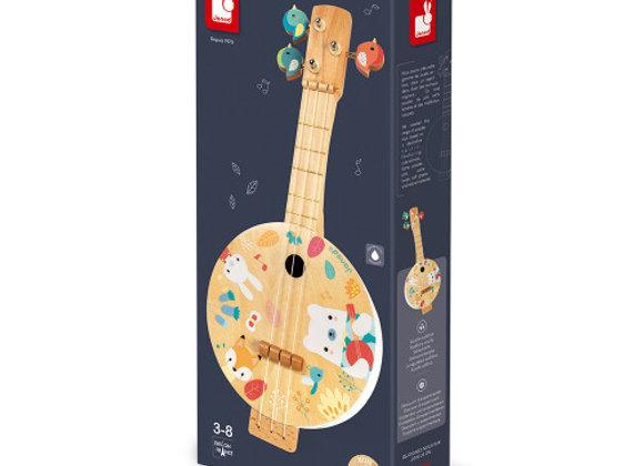 banjo en bois- Janod
