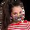 Thumbnail: Masque Giselle - Leopard pastel