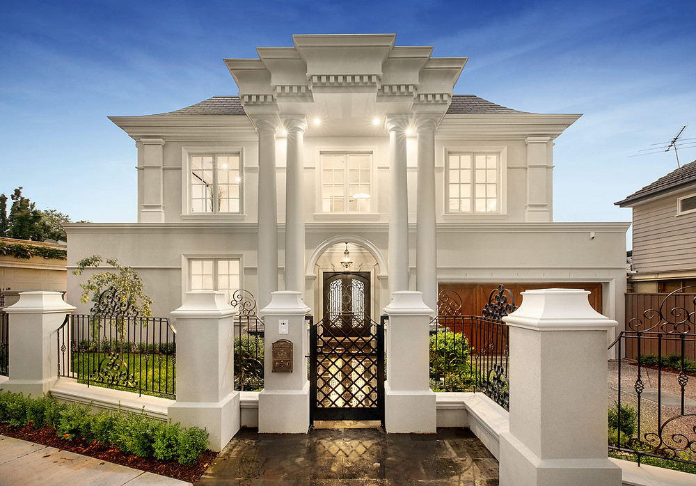 French Provincial Luxury Home