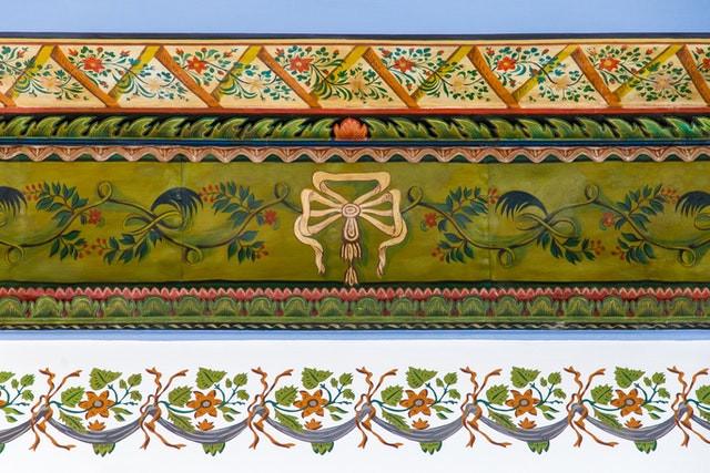 House of Abbud restored frieze