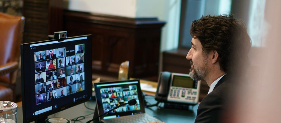 Prime Minister Justin Trudeau holds virtual meeting with religious leaders