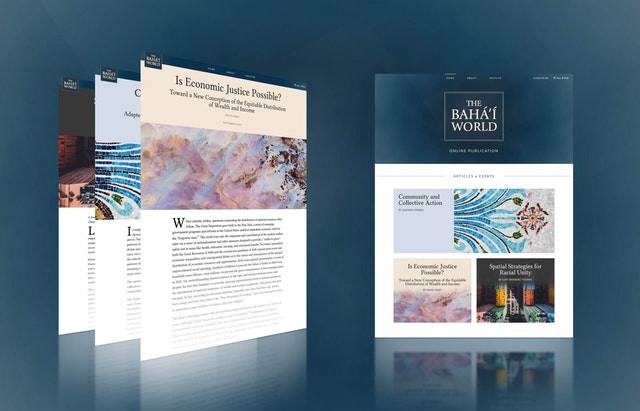 "Latest ""Bahá'í World"" essays delve into economic justice, racial unity, community building"