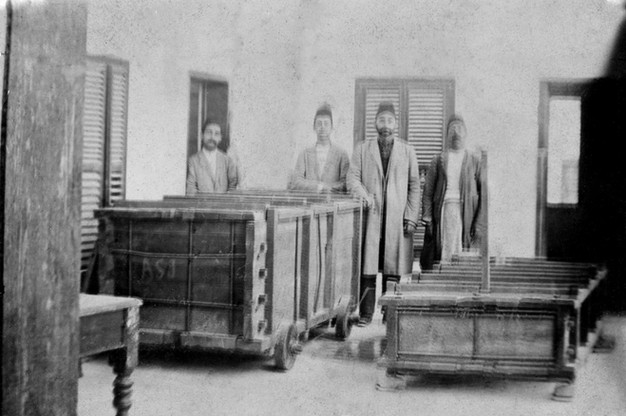 Sarcophagus for the Casket