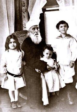 Abdu'l-Baha with Marzieh Gail