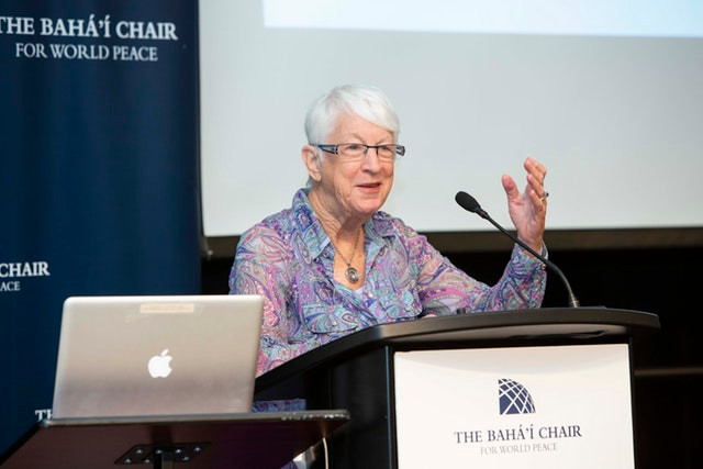 Galia Golan, a professor at the Hebrew University of Jerusalem
