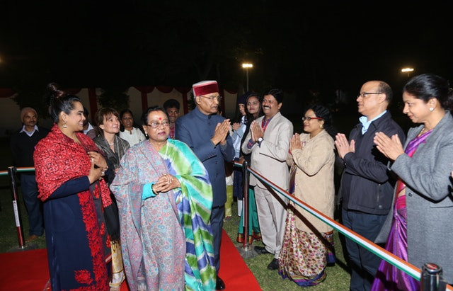 India's president honors the Bab's historic bicentenary