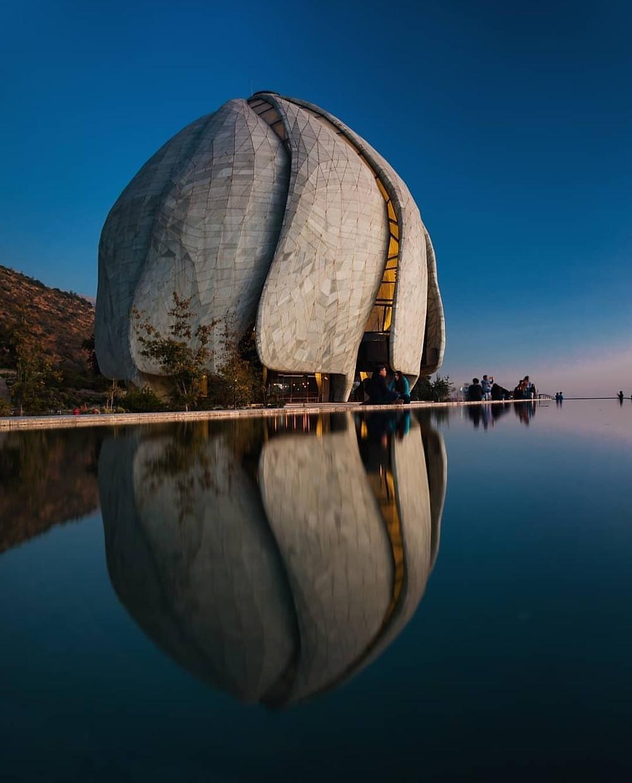 Chile Baha'i House of Worship Reflection