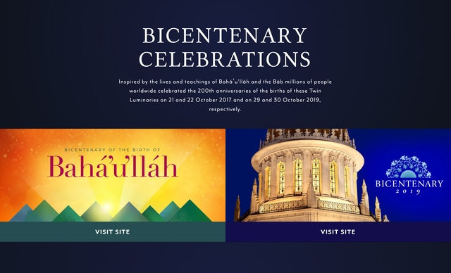 Baha'i Faith website