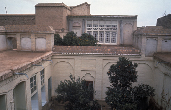 Overview of the House of the Bab Shiraz.