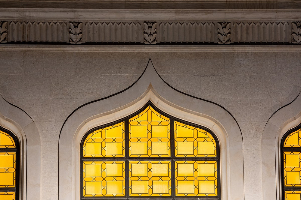 Window of the Shrine of the Bab