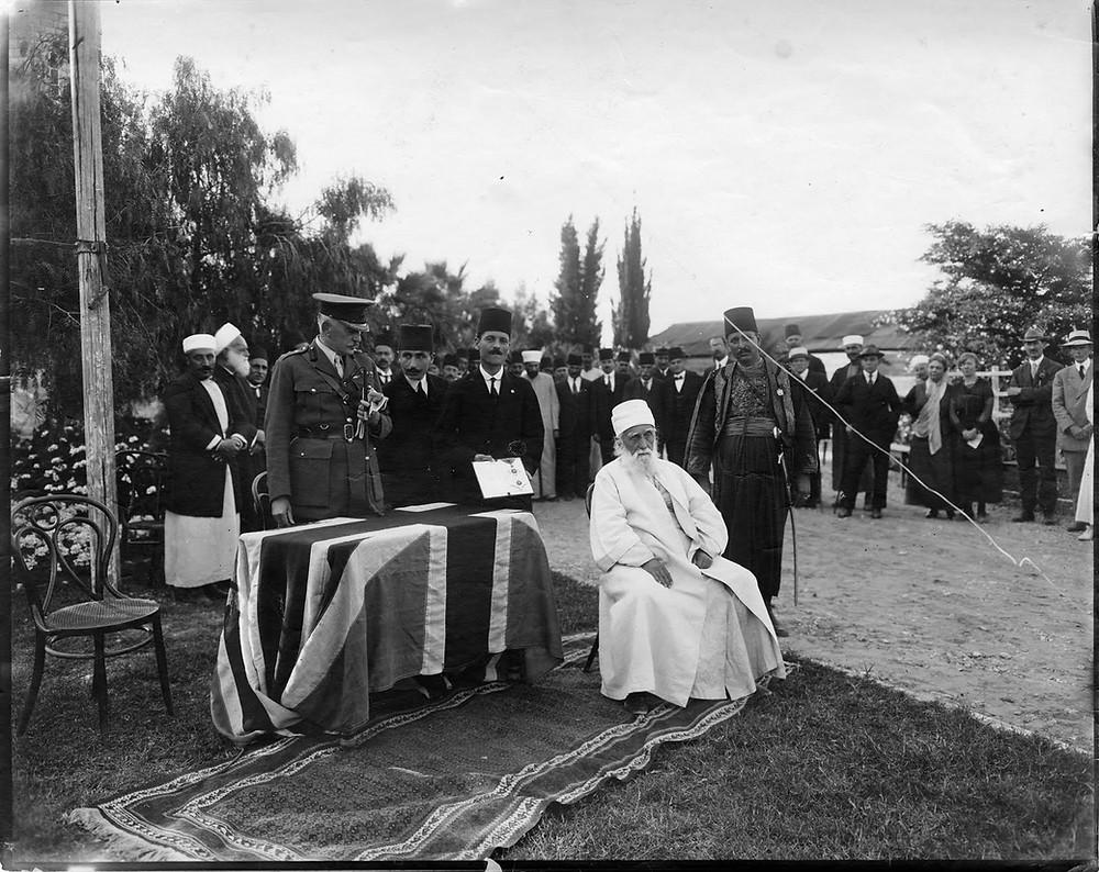 Abdu'l-Baha Knighthood