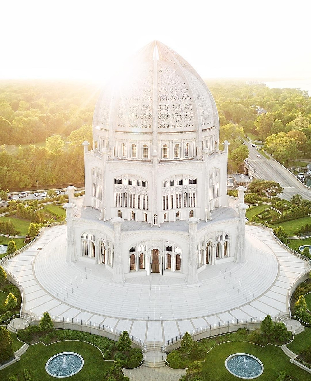 Baha'i House of Worship Chicago
