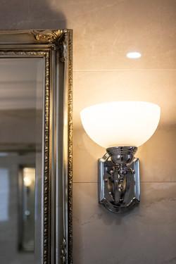 Houghton Light and Mirro Bathroom