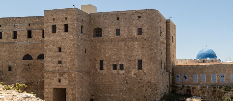 Baha'u'llah in the Prison Barracks of Akka