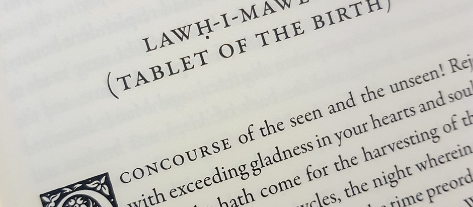 Lawḥ-i-Mawlud - Tablet of the Birth