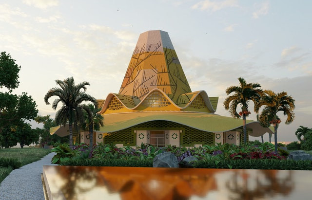 Design unveiled for first Baha'i Temple in the DRC