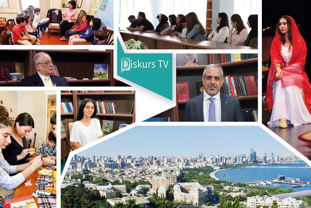 """Newly launched """"Discourse TV"""" in Azerbaijan explores pressing social issues"""