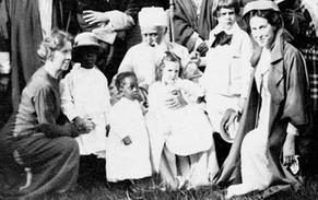 'Abdu'l-Baha with Children
