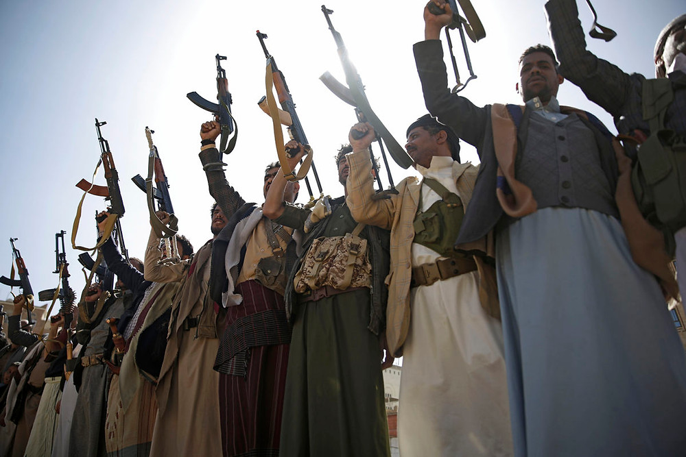 Houthi Rebel Fighters