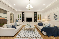 French provincial family room