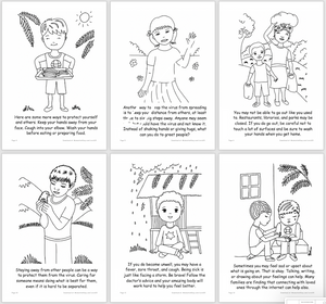 Coronavirus COVID-19 Activity Book for Children