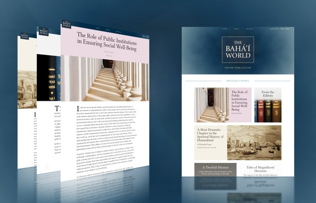 """Series on """"Baha'i World"""" to focus on themes related to global health crisis"""