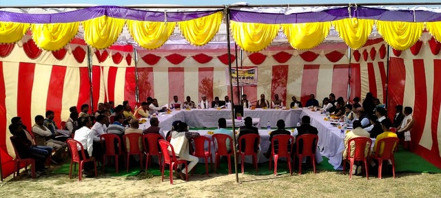 Village chiefs discuss the future at unprecedented gathering in India
