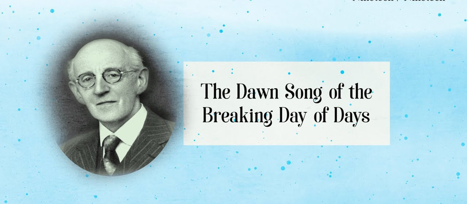 Irish Bahá'í community Video 19: The Dawn Song of the Breaking Day of Days