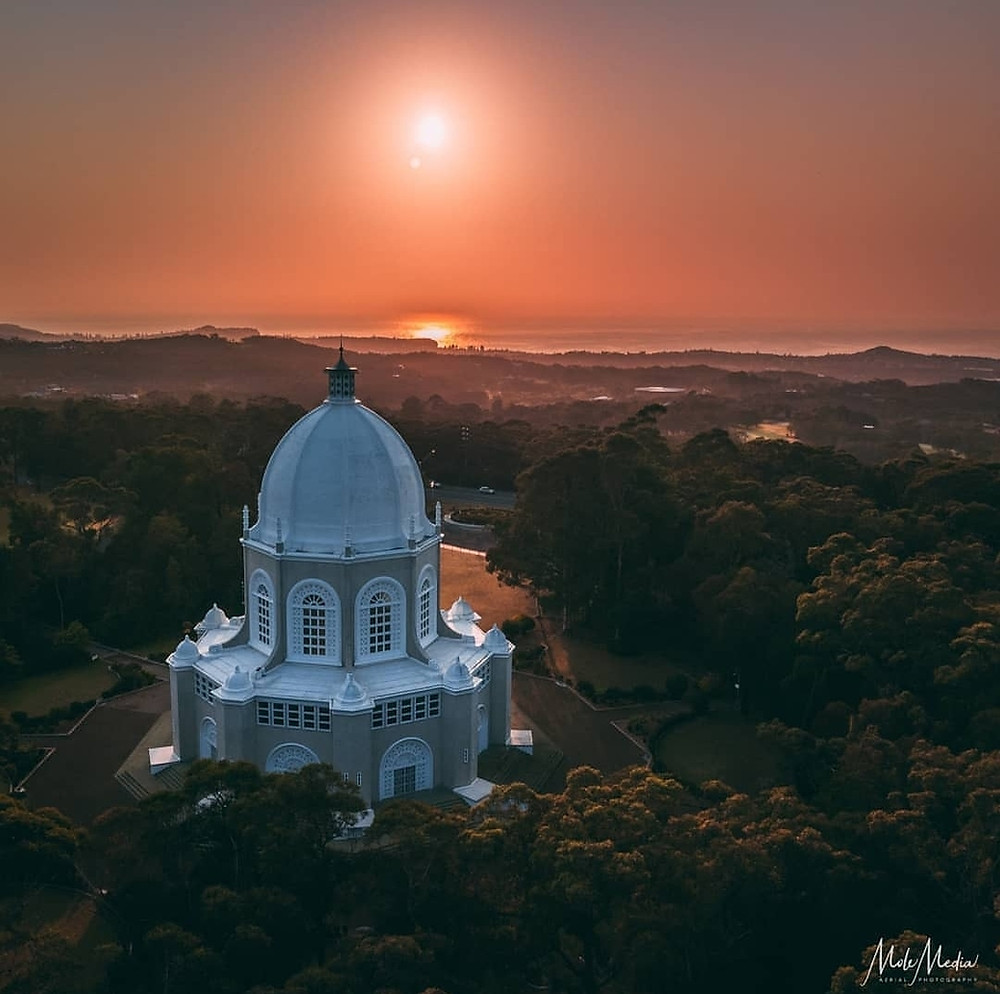 Sunset at House of Worship in Sydney