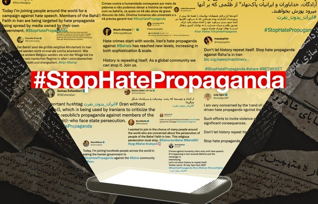 """""""Exceptional solidarity"""": #StopHatePropaganda reaches 88 million in support of Iran's Bahá'ís"""
