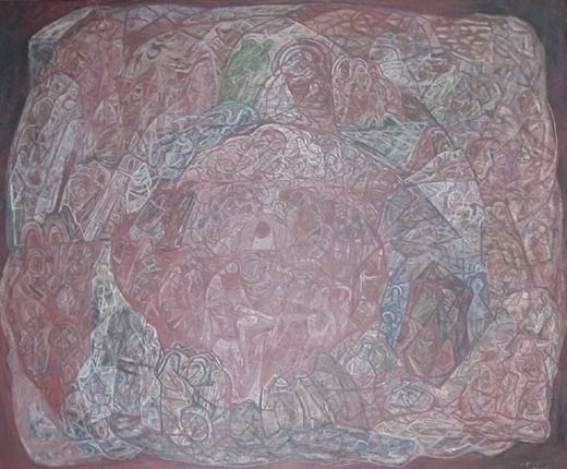 Movement Around a Martyr (1938), Mark Tobey