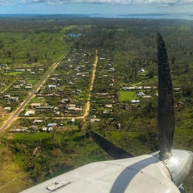 Cyclone Harold Baha'i Faith
